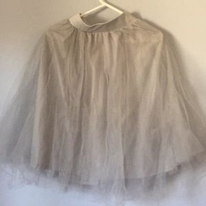 Other - Tulle skirt and lace top